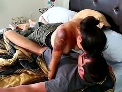 Hot Dane Cross gets hard fucked by Julia Anns horny mature mom Dana Vespoli