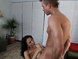 Zoey Holloway seduces her landscaper Bill Bailey and is very shocked with the...