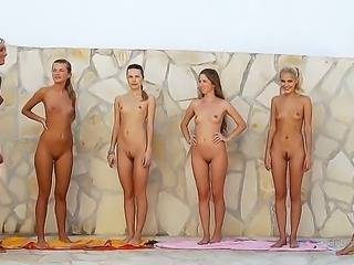 Absolutely outstanding whores, truly perverted girls-only gangbang, their...