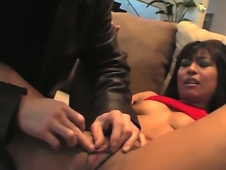 Tempting asian whore Max Mikita is feeling super frisky today. She gets her...