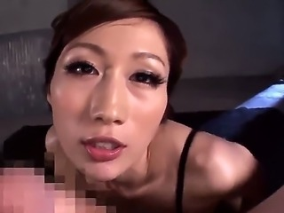 Oh thats sweet Asian lady sucking