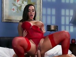 Johnny Sins recives amazing blowjob from hot pornstar Liza del Sierra