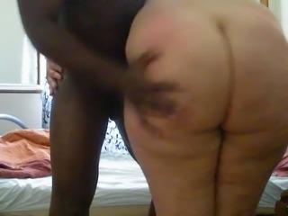 ARAB bbw spanking 2