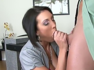 Dylan Ryder is a sexy secretary