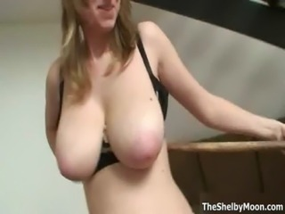 Big tits blonde loves skipping rope free