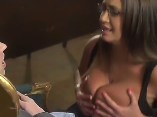 Curvy Emma Butt is allowing Prime Minister Danny D to drill her hot pussy on...