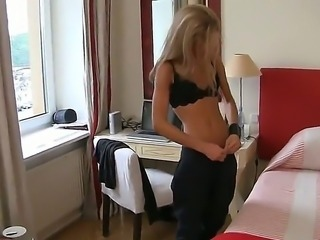 Rocco Siffredi invited Polly, because she is a stunning whore and knows how...
