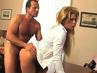 Hello to everyone! This is crazy babe Brooklyn Lee and her nice fucker. He...