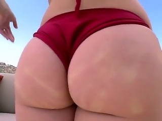 Ashley is certainly blessed with an ass worthy of worship. So, when I see...