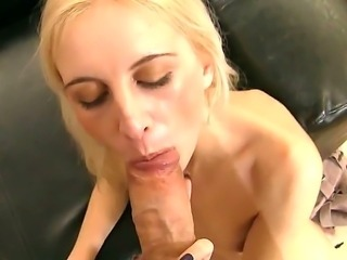 Rocco Siffredi is having a private session with this slutty blonde Alexandra....