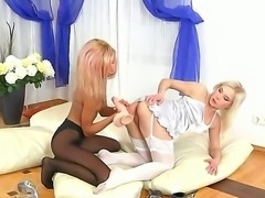 Not every lesbian is ready for this kind of action, but Ioana trusts her...