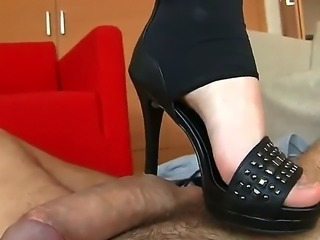 Rocco brings this tantalizing girl to his apartment and peels off her...