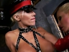 Two nasty and hot females Puma Swede and Sandy love their domination games...