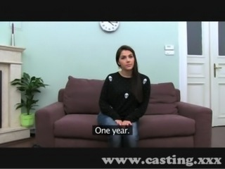 Casting Hot Italian Babe in interview free
