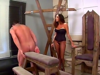 Who would be crazy enough to be sex slave of mad courtesan Ariella Ferrera...