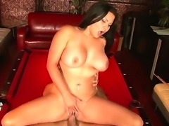 Chick with massive boobs Sophia Lomeli gonna get banged so hard right here,...