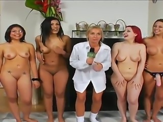 Superb sluts posing in naughty sessions of hardcore pussy fucking along with...