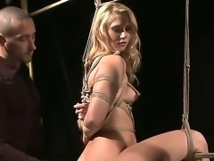 Sexy mature blonde babe has  the wildest night as she is penetrated whiles...