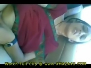 Beautiful Indian cheating wife fucked in saree by lover in car free