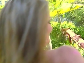 Dani Lane and Romeo Price are the main actors of this outdoor blowjob video....