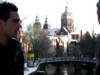 Real dutch hooker sucks tourists cock