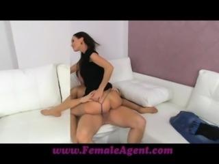 FemaleAgent Cum on my tits or leave my agency free