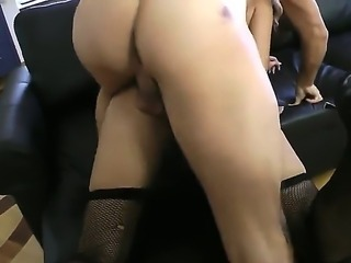 Rocco Siffredi has a good time banging Milla Yul in the asshole