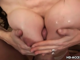 Craving MILF with huge knockers Dianna Doll wanks her lover's throbbing...