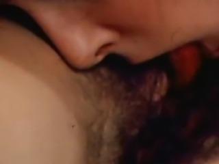 Tina Russell licks her friend till she cums
