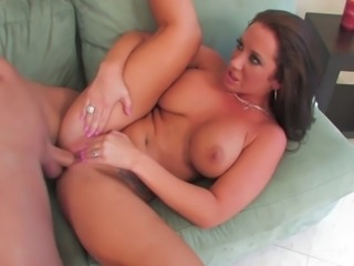 Jayden can never turn down a great opportunity to fuck a big dick so she gets...