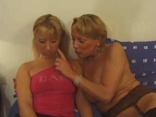 Older French lady getting fisted by a younger girl free