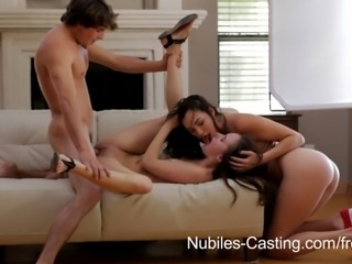 When 20 year old Jayden Taylors comes to audition for a porn shoot, she...