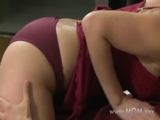 MOM Wife fucks her toyboy free
