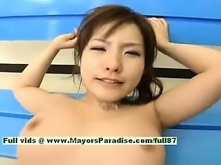 Nao Ayukawa amazing Chinese girl riding a big cock