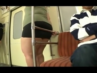 Sexy asian ladies on the bus pt 3
