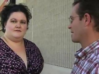 Fattie receives cookie banged