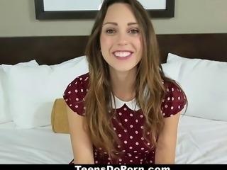 TeensDoPorn - 19yo Casting Video!