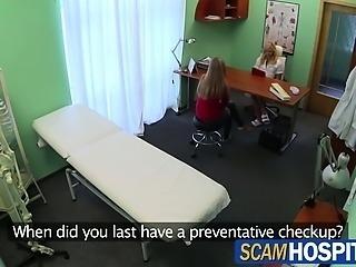 Pervy nurse sexually seduces new patient