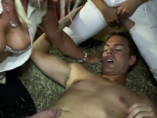 Hot rider Ava Dalush seducing stableboy