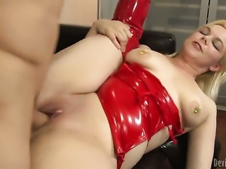 Spencer Fox cant wait any more to insert his pole in charming Alice Frosts...