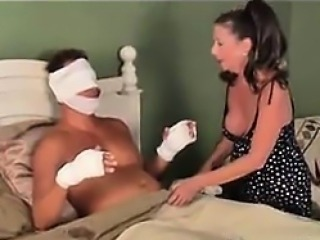 MILF Helping Out Her Son In Law
