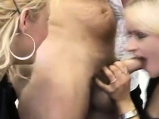 CFNM jerking loving office ladies