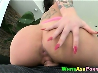 Huge boobs tattooed whore Christy Mack loves big cock