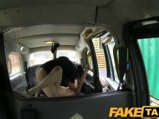 FakeTaxi - Posh lady gets a good hard fuck