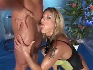 Slutty whore sucks some nice cock part2.