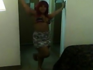 Black Whore Gets Freaky In A Hotel