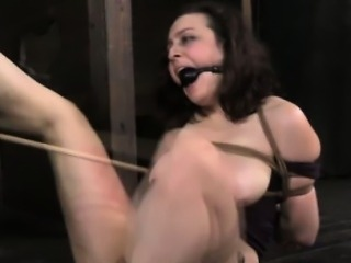 TT NT sub restrained and spanked by dom