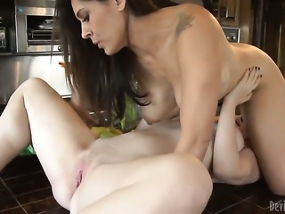 Raylene and Melody Jordan both have fierce appetite for lesbian sex