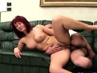 Naughty nurse seduced and boned by one legged hunk