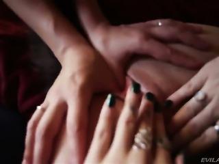 Sinn Sage learns more about lesbian sex from her lesbian friend Tori Lux